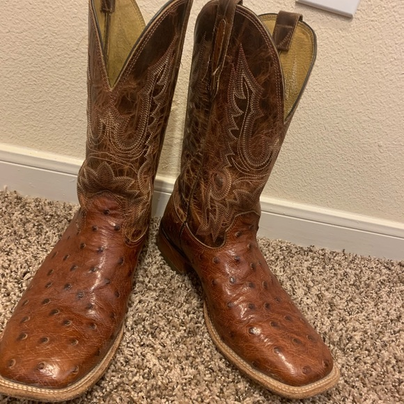 Cavenders ostrich boots